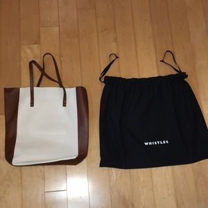 Genuine/ authentic leather whistles bag